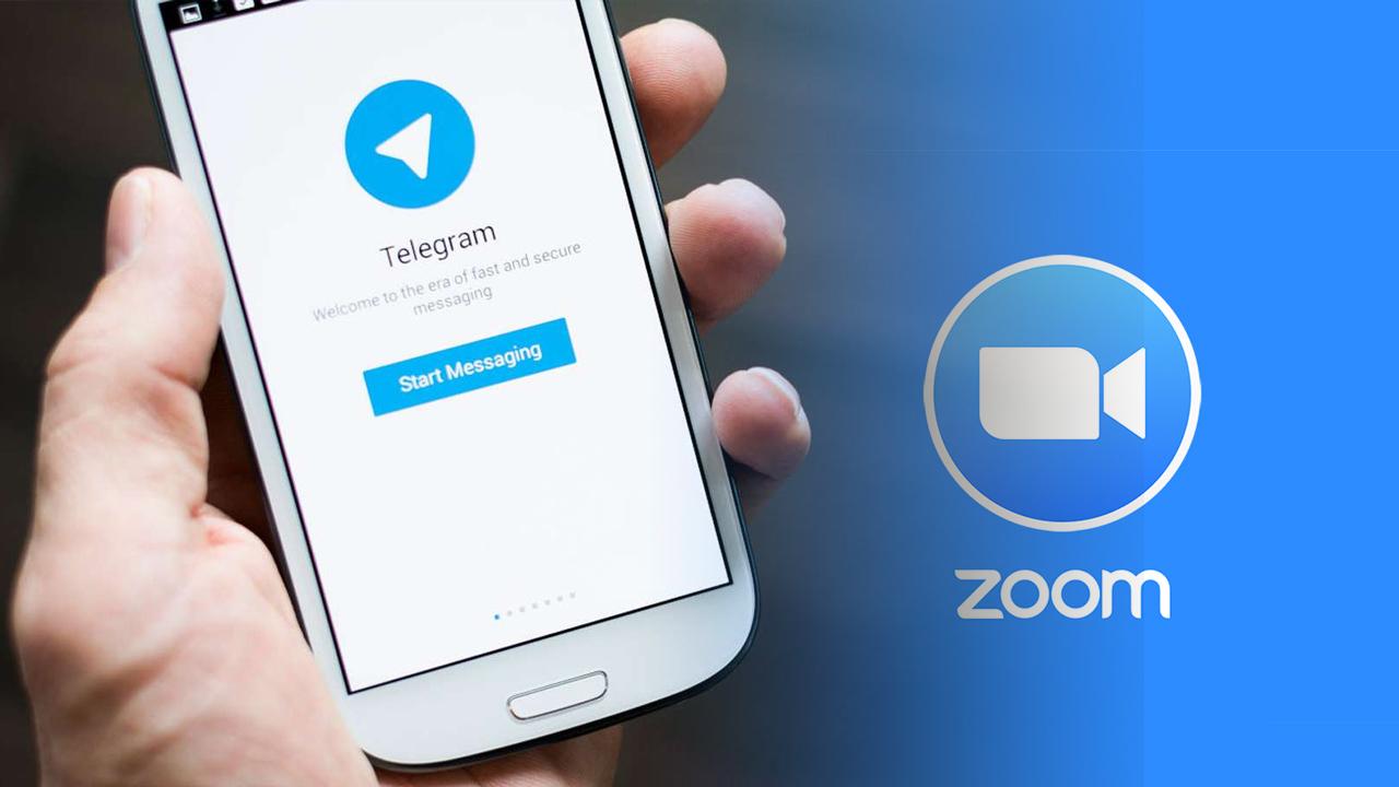 Telegram Zoom