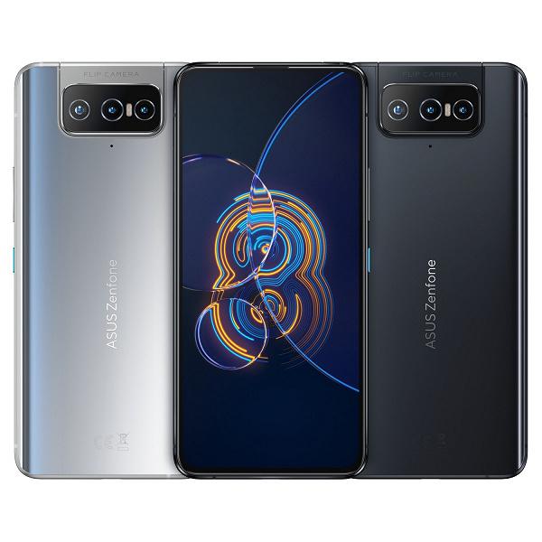Asus Zenfone 8 Flip özellikleri: Snapdragon 888