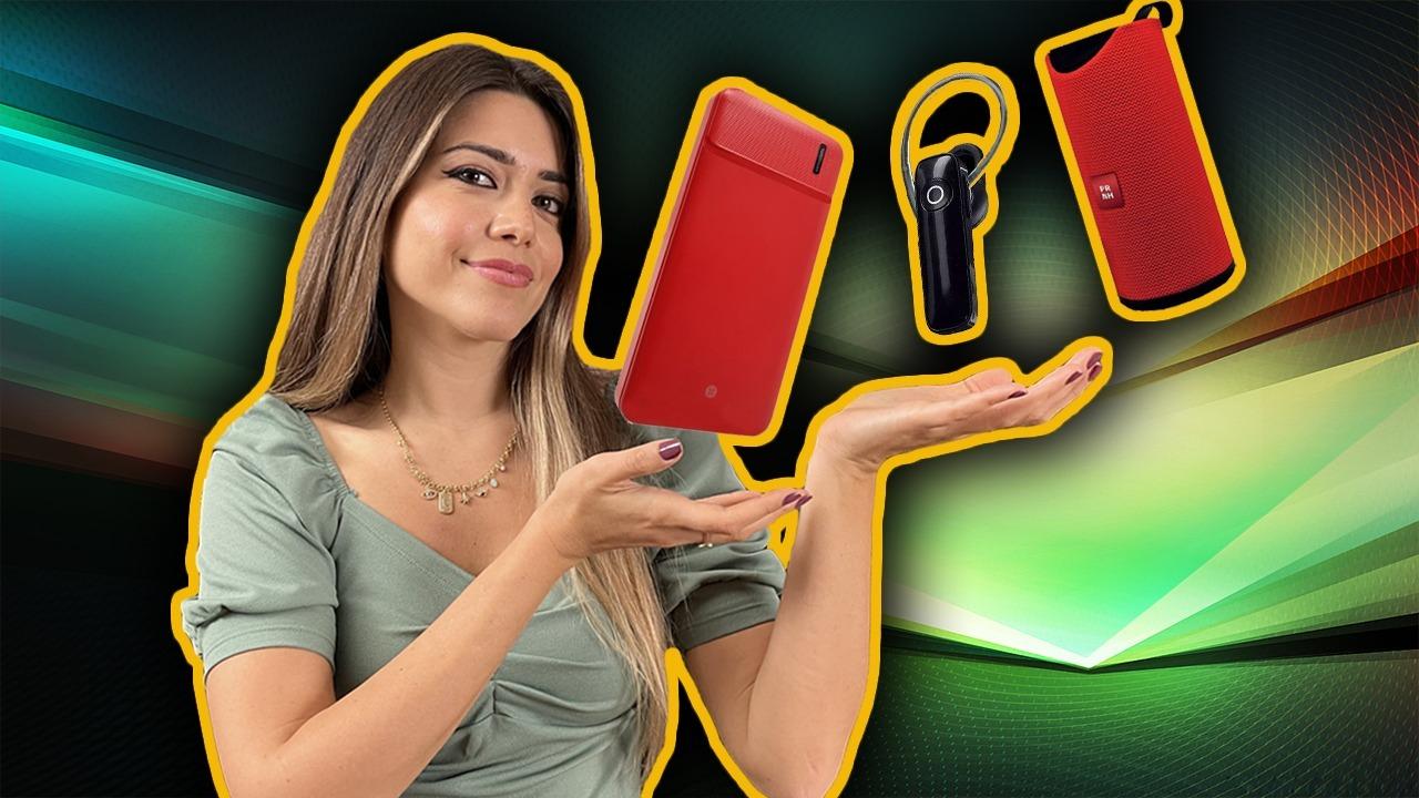 Dexim M35 Powerbank, Piranha Bluetooth hoparlör ve Go Smart kulaklık