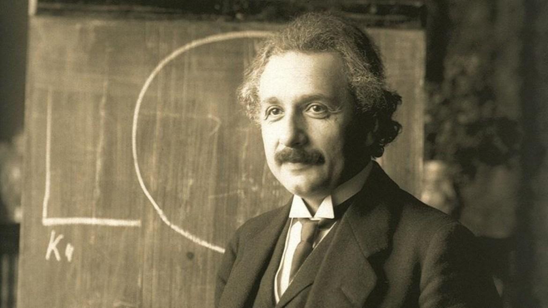 Einstein'in yazdığı kütle-enerji eşdeğerliği mektubu.