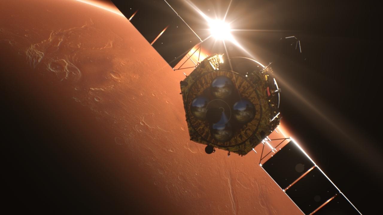 Çin Mars uzay aracı Tianwen-1.