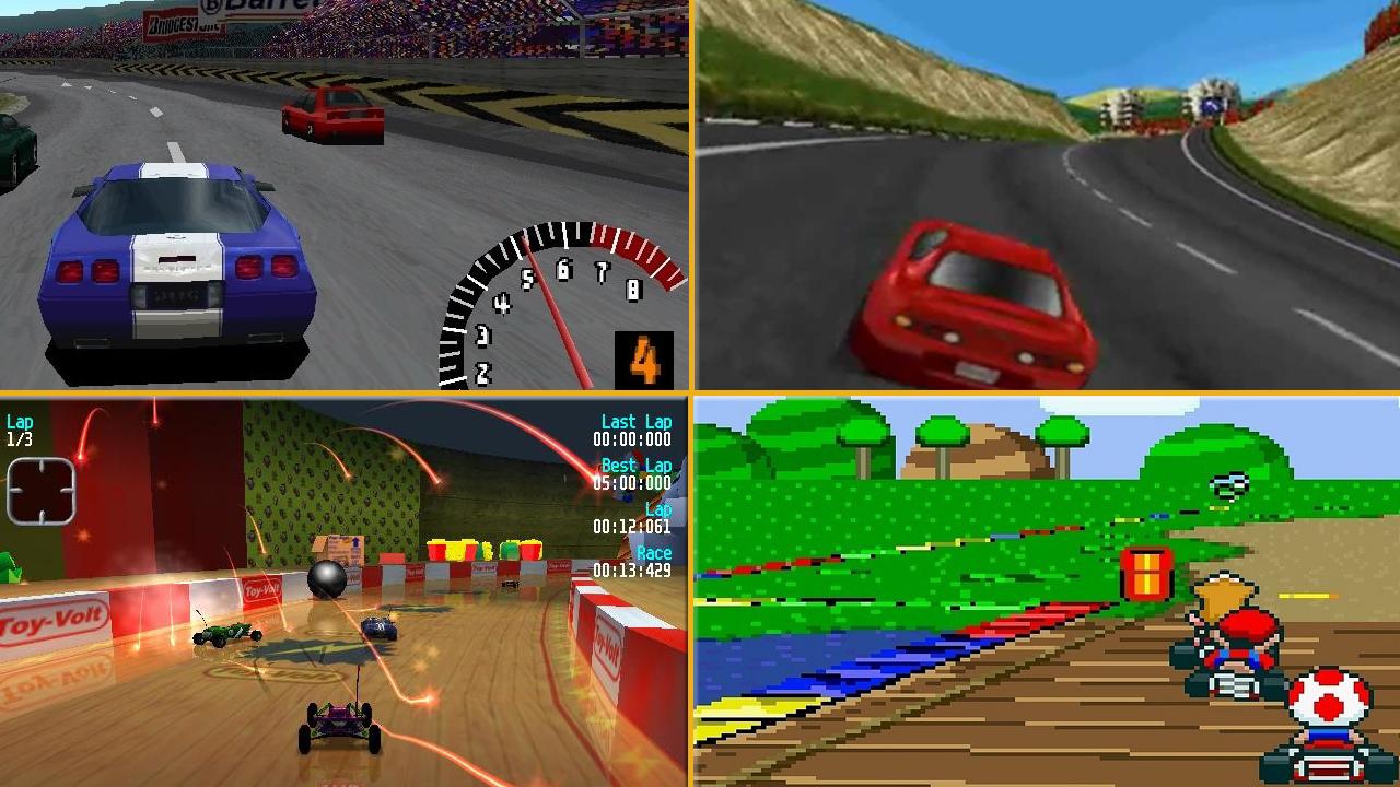 doksanlı yılların oyunları, yarış oyunları, eski oyunlar, doksanlı yılların yarış oyunları