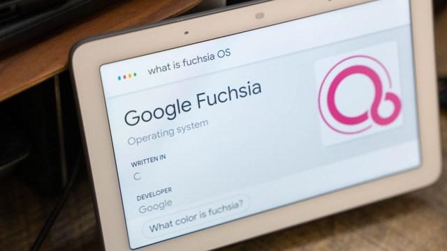 Google, işletim sistemi Fuchsia OS'i Nest Hub'a getirdi