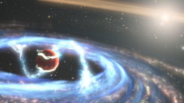 Hubble Jüpiter büyüklüğünde bir gezegen keşfetti