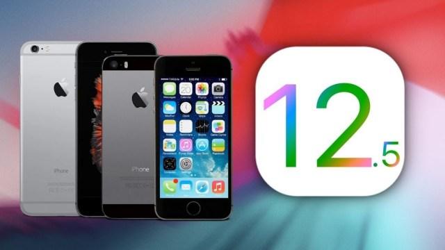 Apple, iOS 12.5.2 için geriye dönüşleri kapattı!