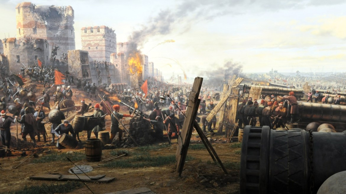 Technology in the conquest of Istanbul.