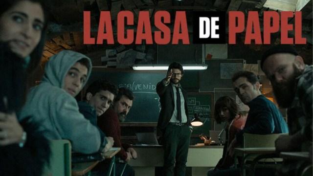 La Casa De Papel final sezonu için sevindiren gelişme
