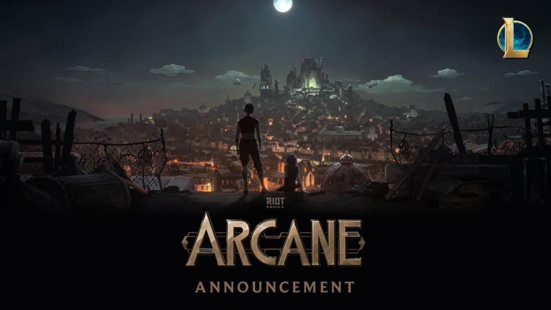 arcane fragmanı, league of legends animasyonu, league of legends arcane, arcane dizisi