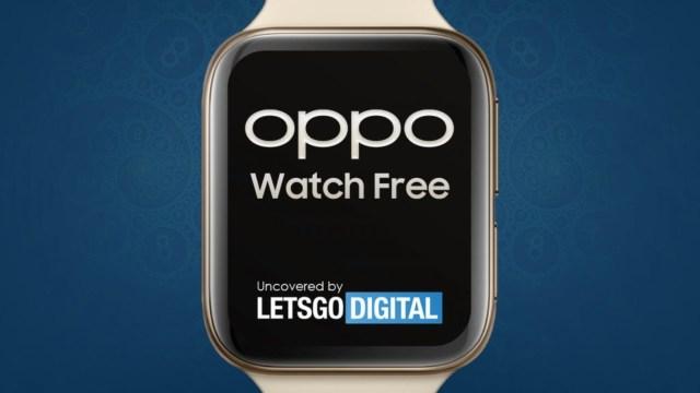 Akıllı saat piyasası karışıyor! Oppo Watch Free yolda