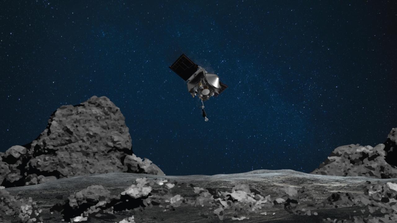 NASA asteroit Bennu görevi