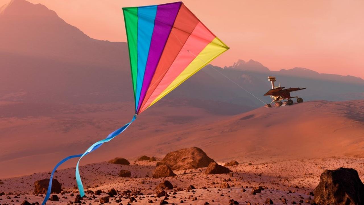 Mars görevlerinde enerji üretmek için uçurtma robotu kullanılabilir.