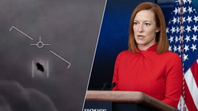 UFO görüntüleri üzerine Beyaz Saray'dan flaş açıklama