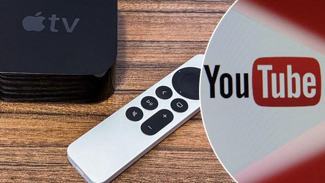 youtube apple tv 4k