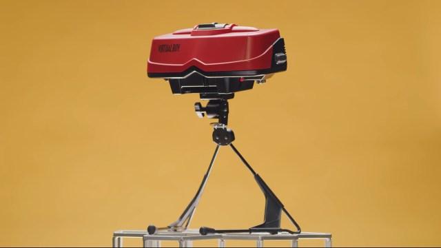 Zamanının ötesindeki teknoloji: Nintendo Virtual Boy