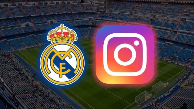Real Madrid, Instagram'da bir ilke imza attı