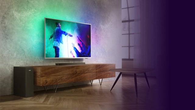 Philips Ambilight TV'ler için benzersiz Soundbar fırsatı