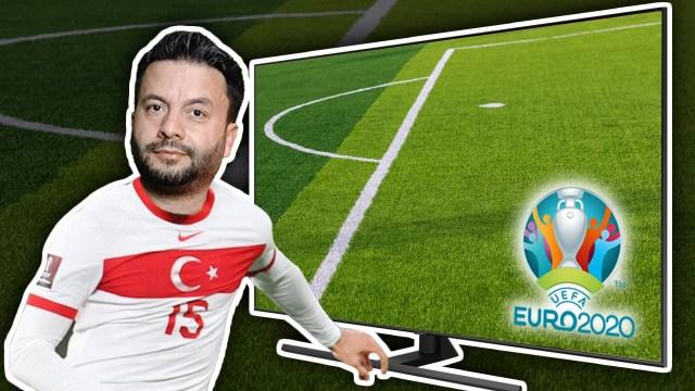 Samsung 4K QLED TV ile Euro 2020'ye hazırlandık