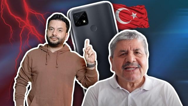 Babama yeni telefon: realme C21!