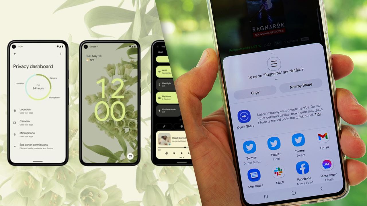 android 12 paylaşım ekranı, android paylaşım ekranı, android 12 özellikleri, android kullanıcıları