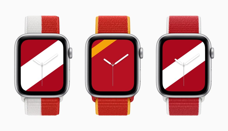 Apple Watch kordonları Kanada Çin Danimarka