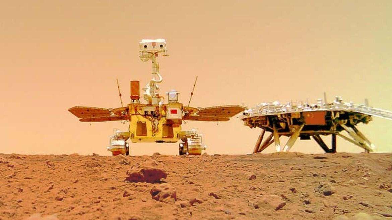 Mars gezgini Zhurong.
