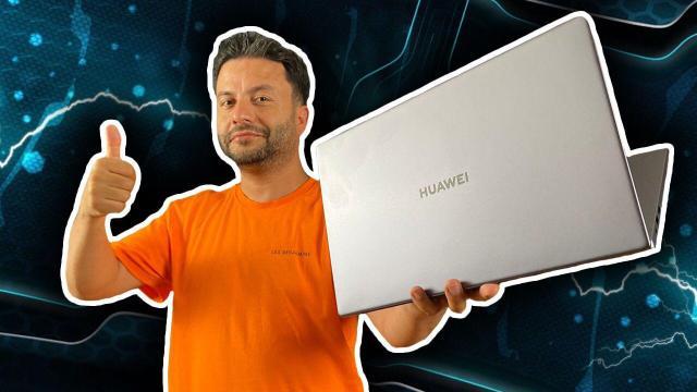 Huawei MateBook D15 2021 elimizde!