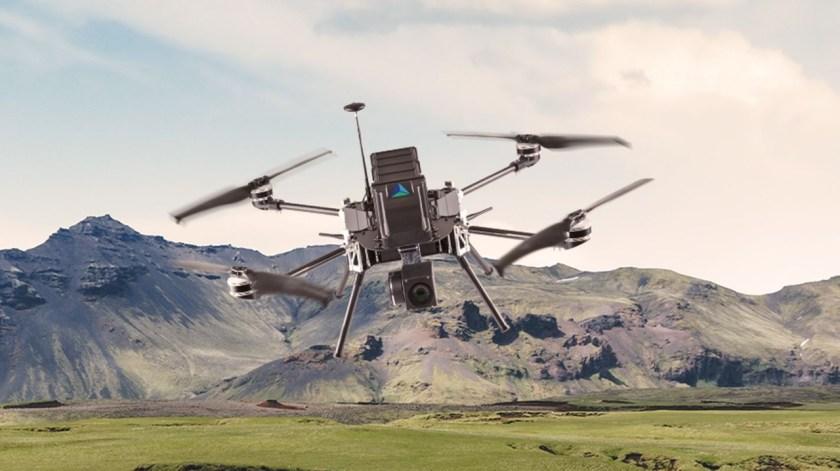 ormanlarda arama kurtarma için otonom drone