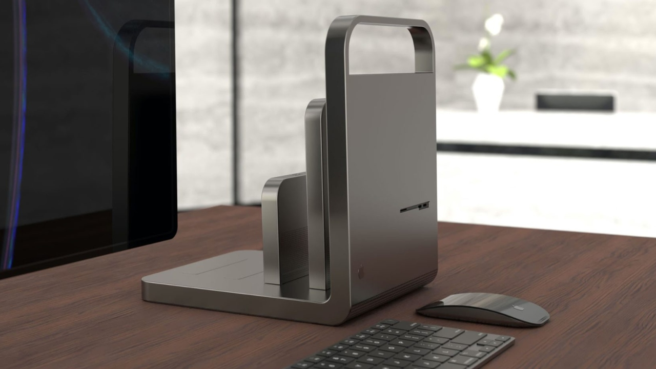 Apple Mac Pro yeni model.