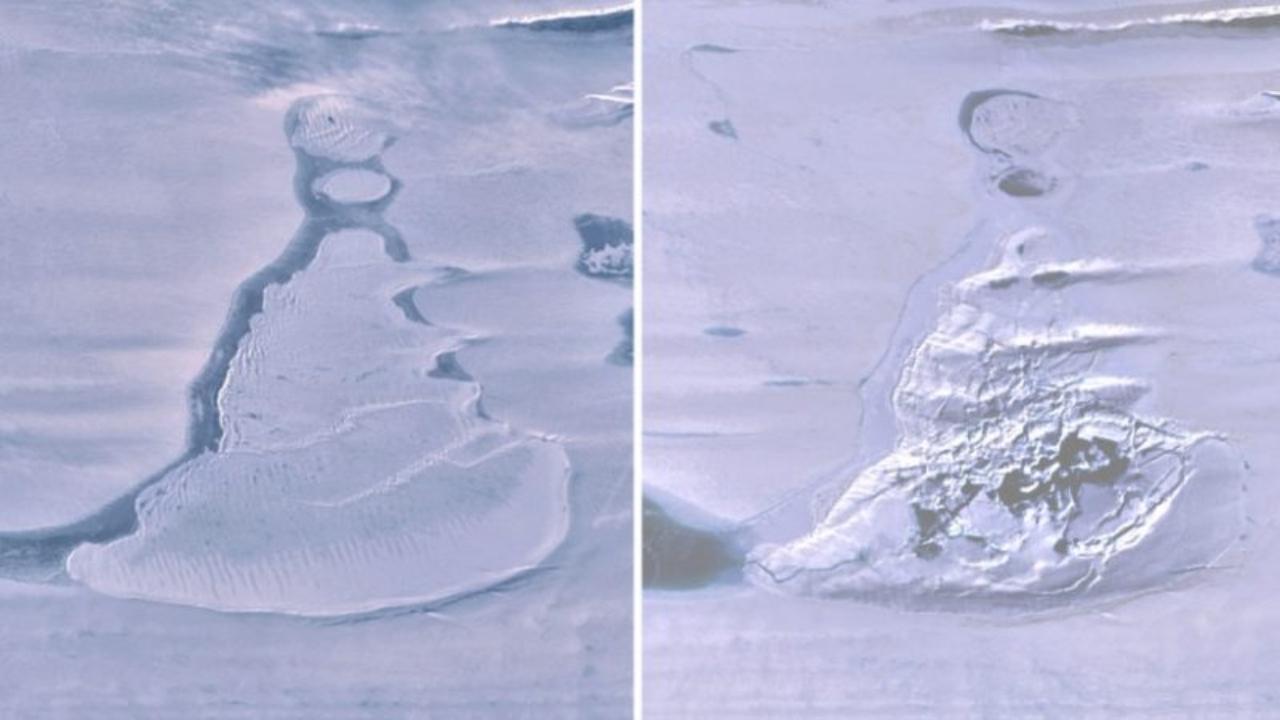 Antarktika buz gölü kayboldu