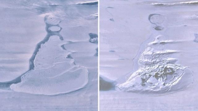 Büyük bir Antarktika gölü ortadan kayboldu