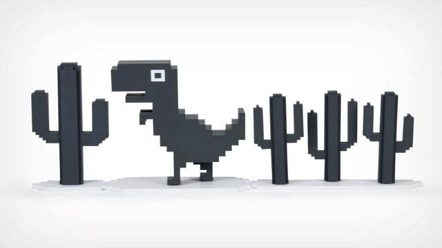 Chrome'un Dino oyununu sevenlere müjde!