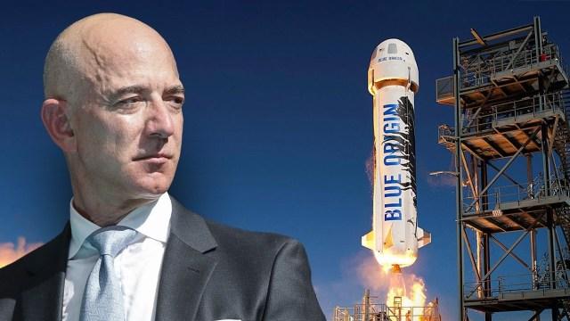 Jeff Bezos, uzay yolculuğu