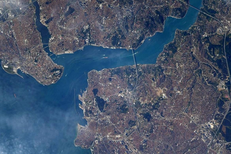 NASA astronotunun İstanbul fotoğrafında Atatürk detayı