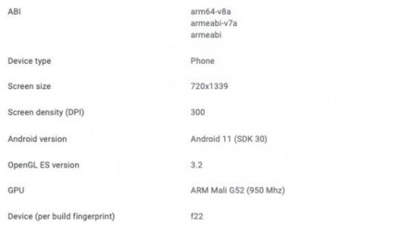 Galaxy F22 fiyatı
