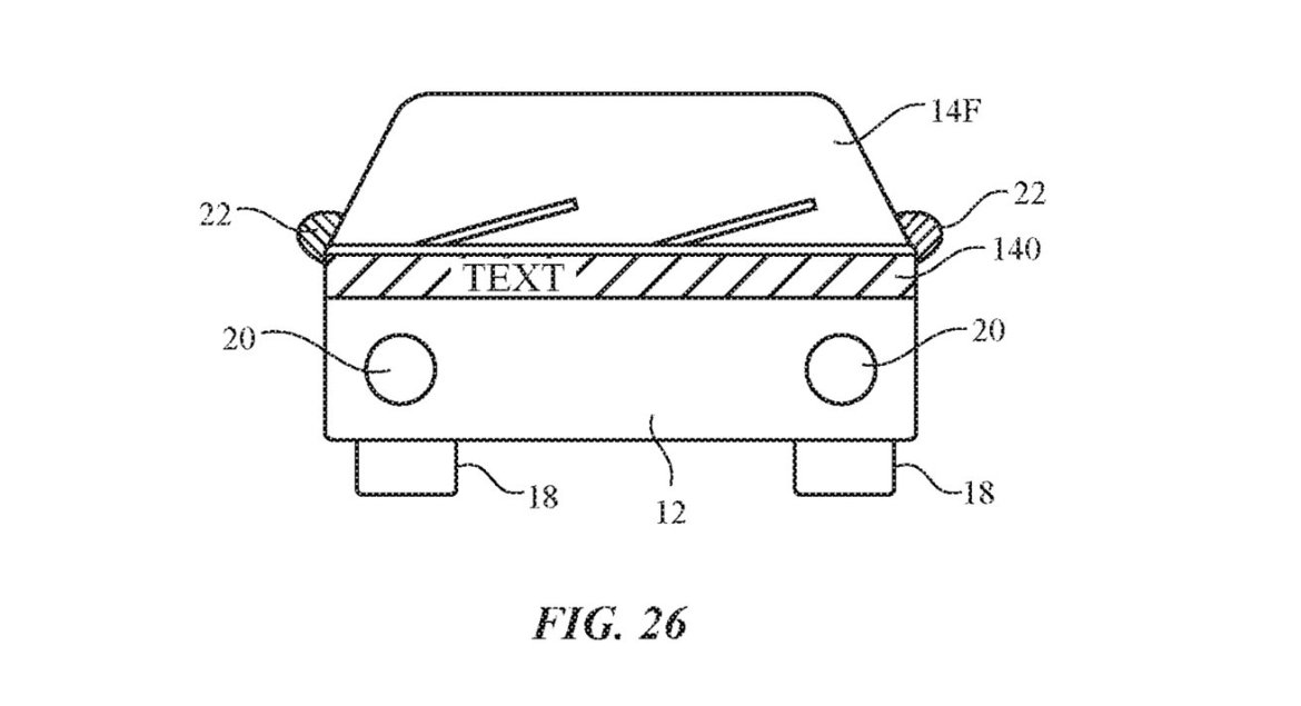 New patent for Apple Car appeared! 2