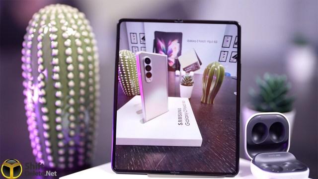 İlk ekran altı kameralı katlanabilir telefon: Galaxy Z Fold3 5G tanıtıldı
