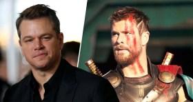 Matt Damon, süper kahraman filmlerine karşı