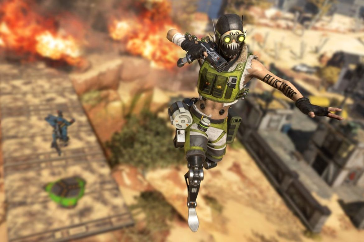 Tactics for those who don't want to know an opponent in Apex Legends