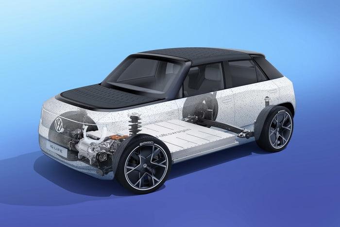 Volkswagen unveils concept portable electric car 10