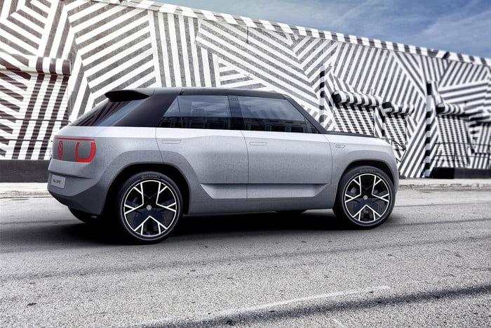 Volkswagen unveils concept portable electric car 14