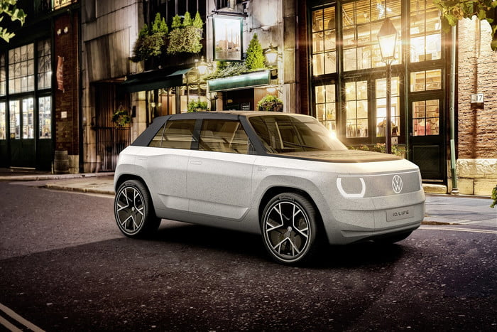 Volkswagen unveils concept portable electric car 16