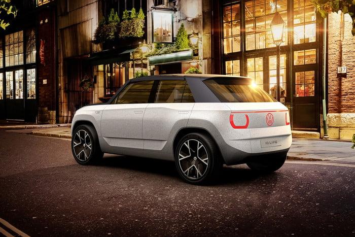 Volkswagen unveils concept portable electric car 17