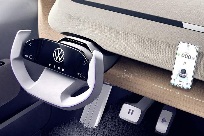 Volkswagen unveils concept portable electric car 6