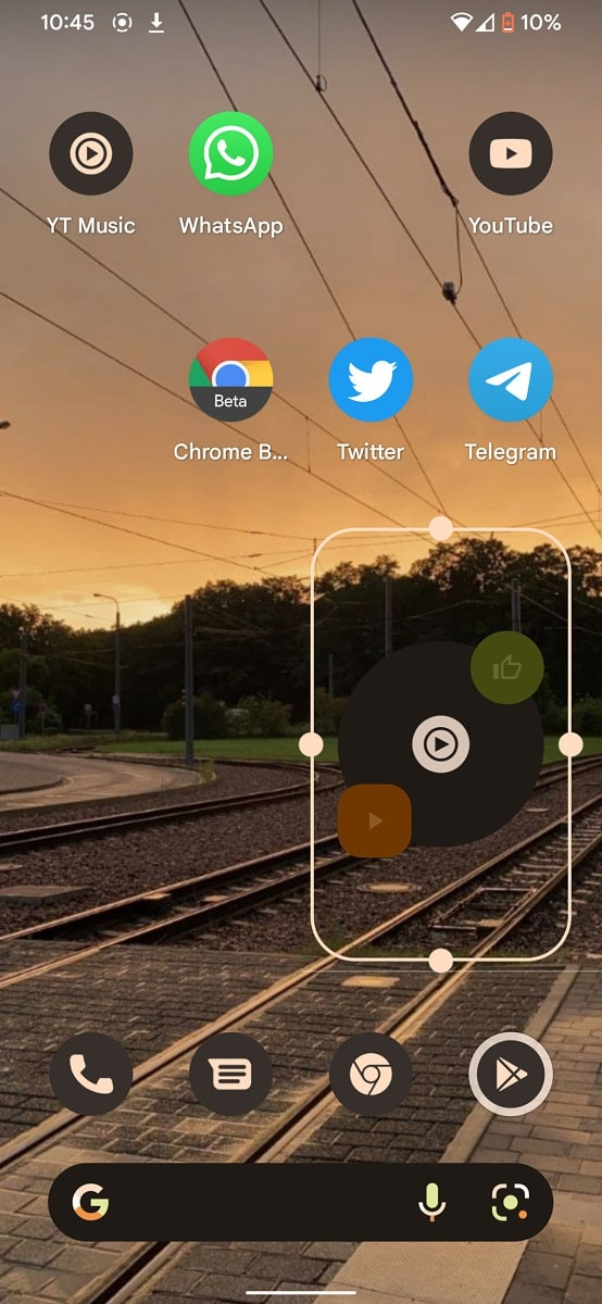YouTube Music Material You widget 2 1