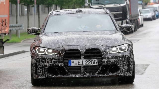 BMW M3 Touring, tüm ihtişamıyla görüntülendi