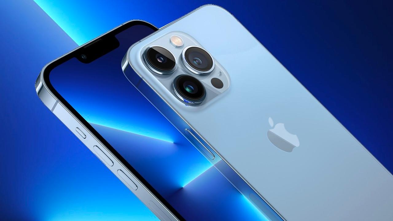 iPhone 13 ekranı ve Android ekranı