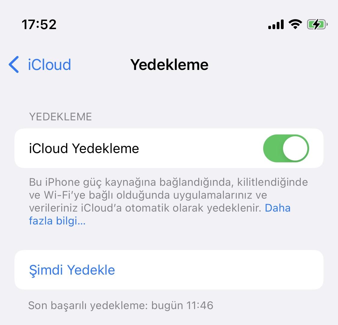 iOS 15 temiz kurulum IPSW
