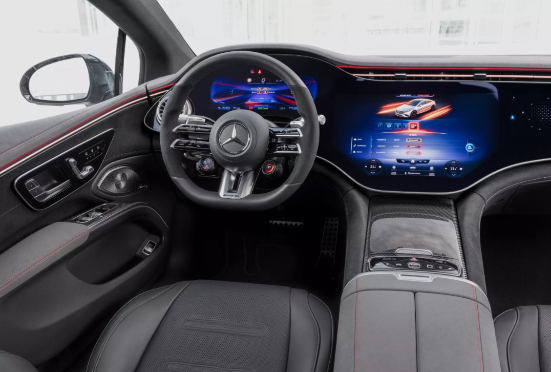 First electric AMG model introduced: Mercedes-AMG EQS 3