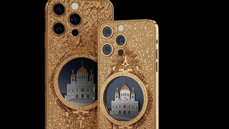 iPhone 13 Pro Max, tamamen altın versiyonu