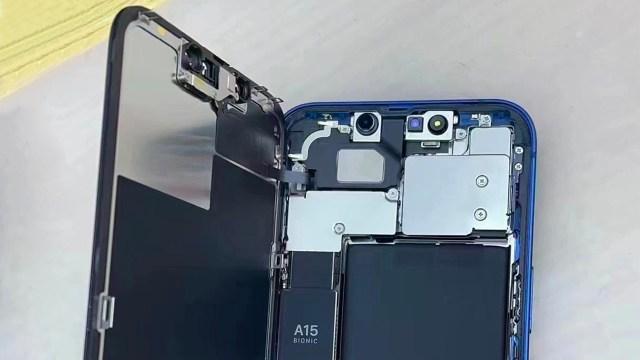 iPhone 13'ün yan sanayi ekranları Face ID'yi bozuyor!